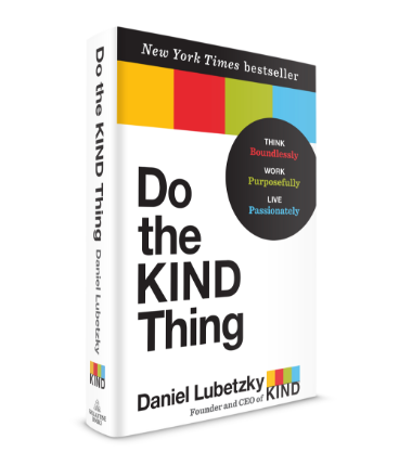 """Do The Kind Thing"" book cover"